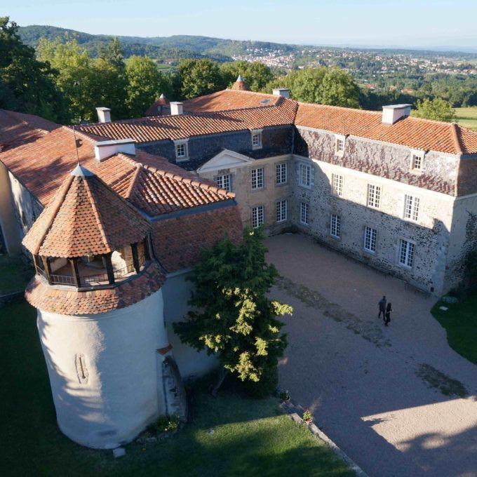 L'accueil au château
