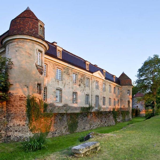 Le château de Goutelas